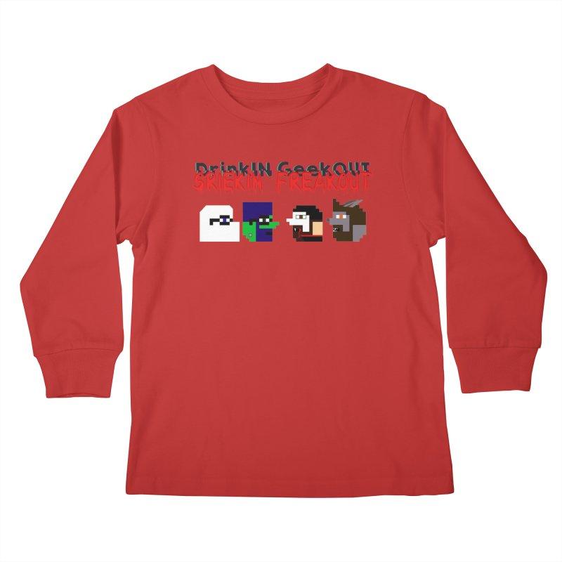 SiFo DiGo Kids Longsleeve T-Shirt by DrinkIN GeekOUT's Artist Shop