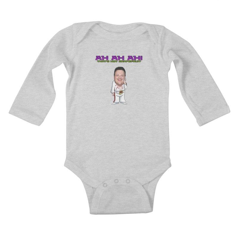 Nedry Kids Baby Longsleeve Bodysuit by DrinkIN GeekOUT's Artist Shop