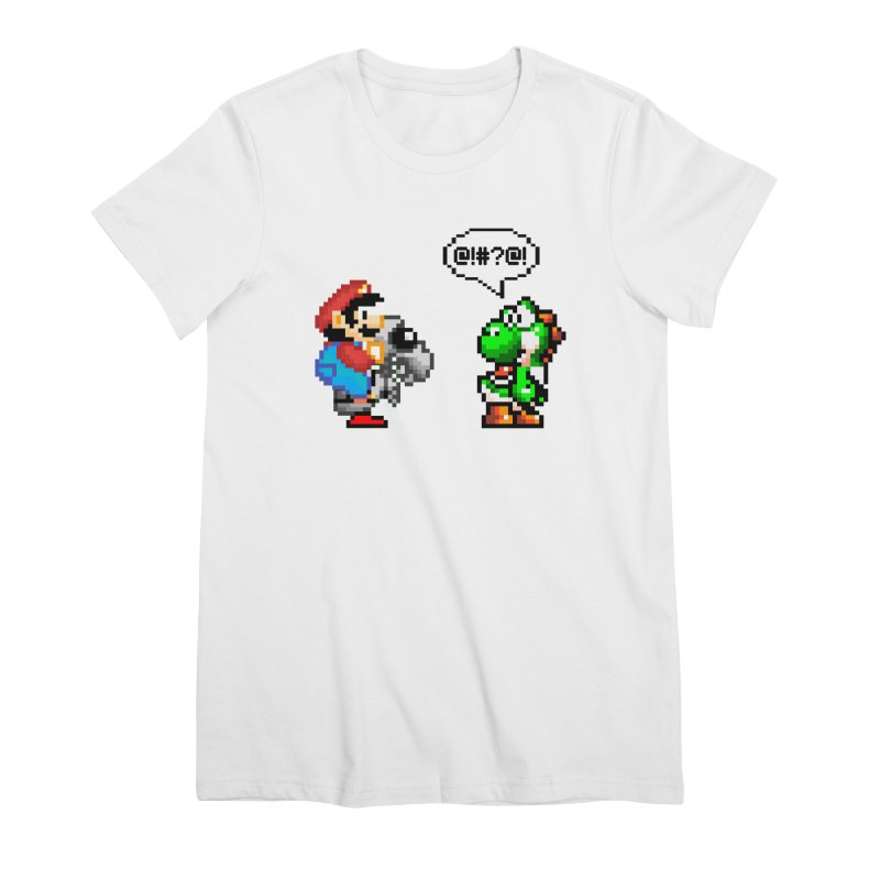 Caught Cheating Women's Premium T-Shirt by DrinkIN GeekOUT's Artist Shop