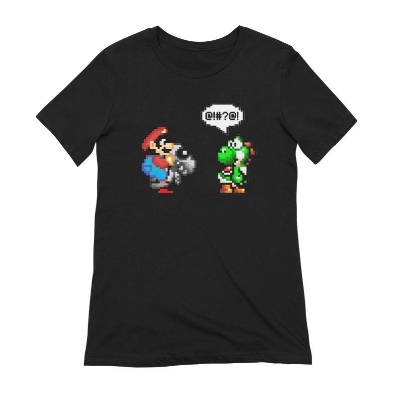 Caught Cheating Women's Extra Soft T-Shirt by DrinkIN GeekOUT's Artist Shop