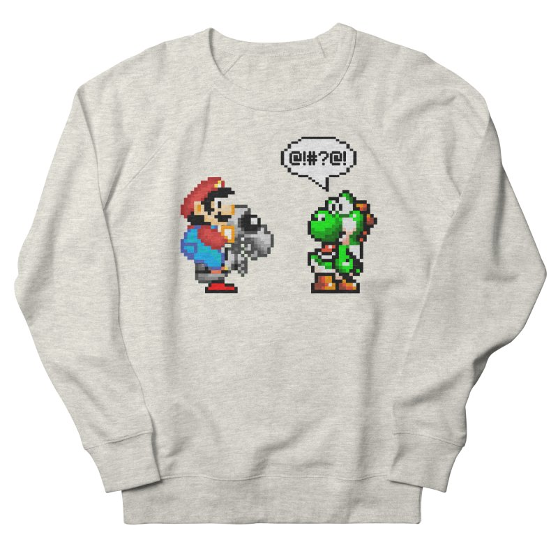 Caught Cheating Men's French Terry Sweatshirt by DrinkIN GeekOUT's Artist Shop