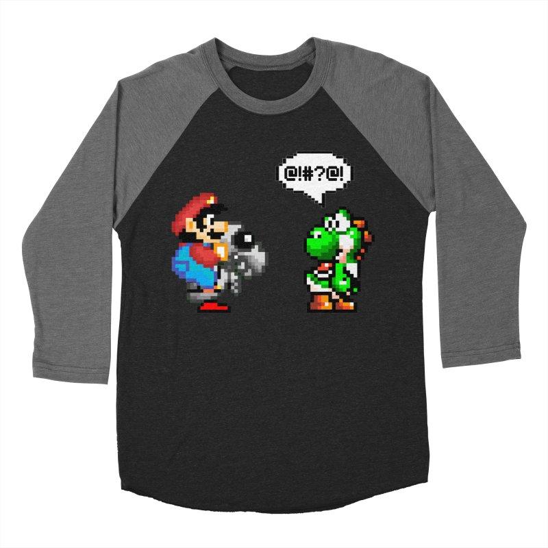 Caught Cheating Men's Baseball Triblend Longsleeve T-Shirt by DrinkIN GeekOUT's Artist Shop