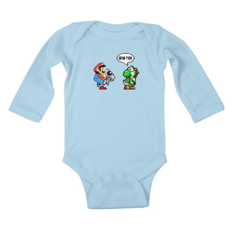 Caught Cheating Kids Baby Longsleeve Bodysuit by DrinkIN GeekOUT's Artist Shop