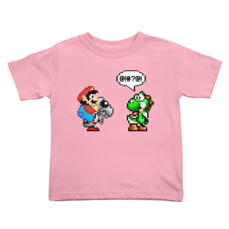 Caught Cheating Kids Toddler T-Shirt by DrinkIN GeekOUT's Artist Shop