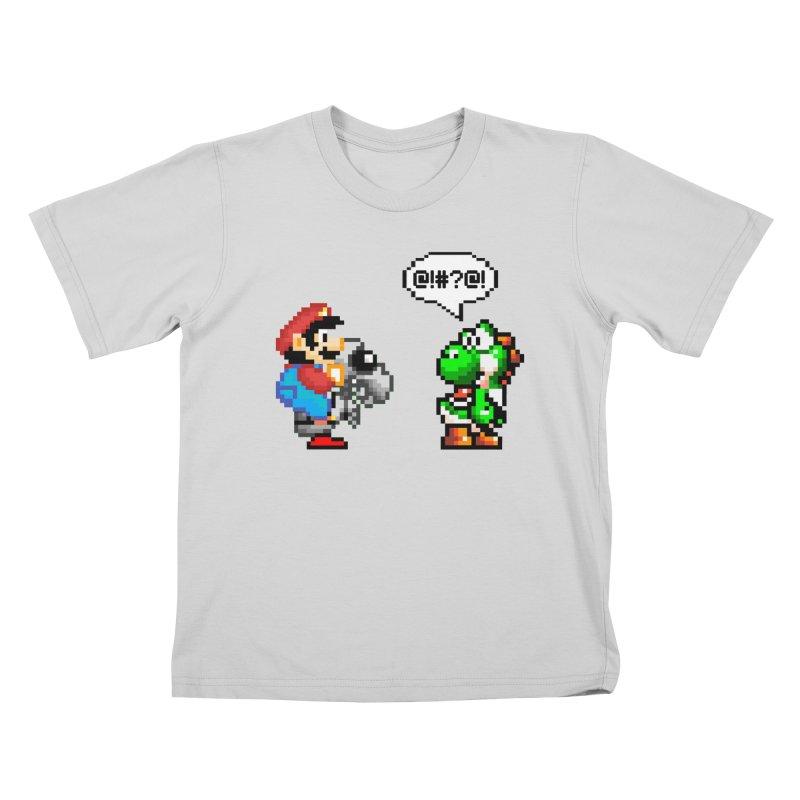 Caught Cheating Kids T-Shirt by DrinkIN GeekOUT's Artist Shop