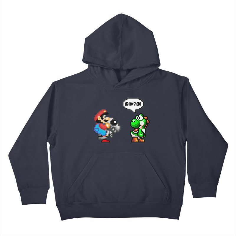 Caught Cheating Kids Pullover Hoody by DrinkIN GeekOUT's Artist Shop