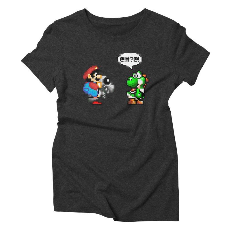 Caught Cheating Women's Triblend T-Shirt by DrinkIN GeekOUT's Artist Shop