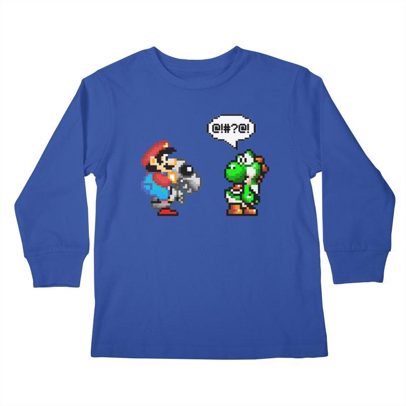 Caught Cheating Kids Longsleeve T-Shirt by DrinkIN GeekOUT's Artist Shop