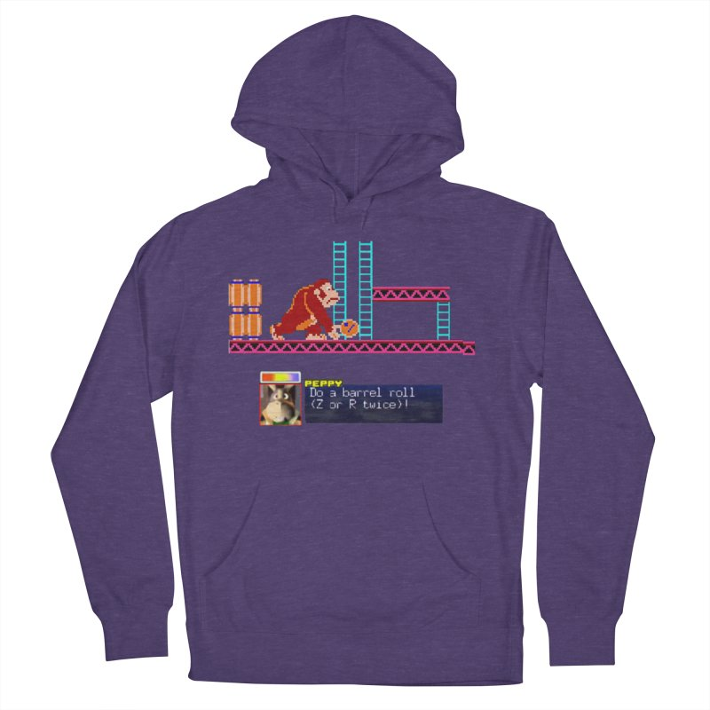 Do A Barrel Roll Men's French Terry Pullover Hoody by DrinkIN GeekOUT's Artist Shop