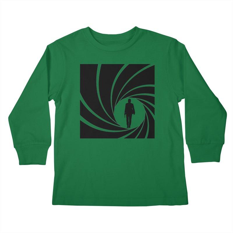Wick, John Wick Kids Longsleeve T-Shirt by DrinkIN GeekOUT's Artist Shop