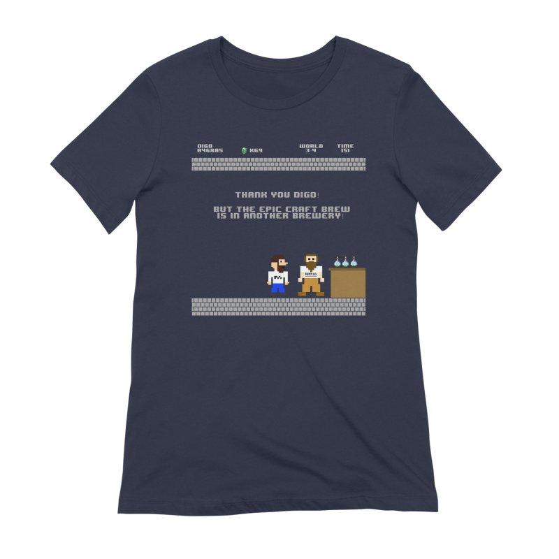 Another Brewery Women's Extra Soft T-Shirt by DrinkIN GeekOUT's Artist Shop