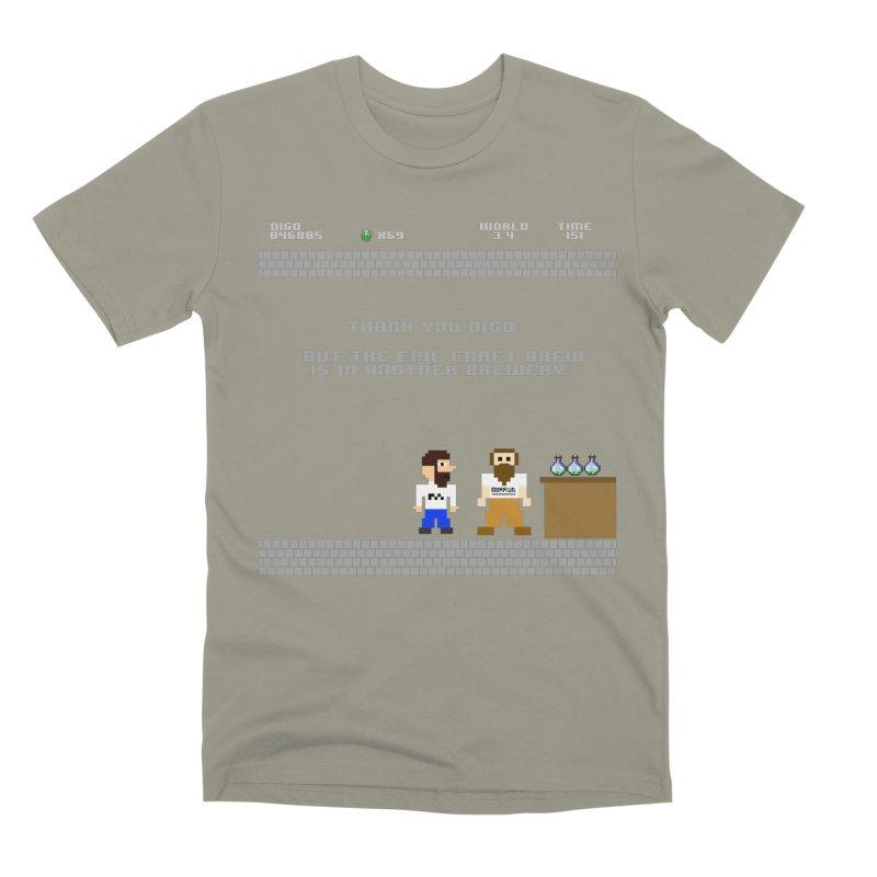 Another Brewery Men's Premium T-Shirt by DrinkIN GeekOUT's Artist Shop