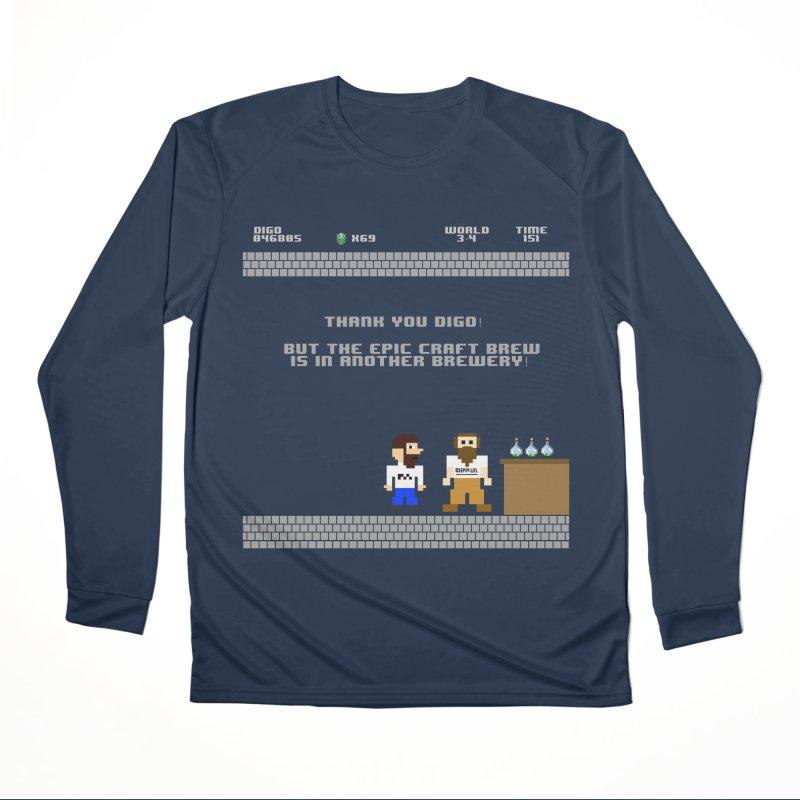 Another Brewery Men's Performance Longsleeve T-Shirt by DrinkIN GeekOUT's Artist Shop