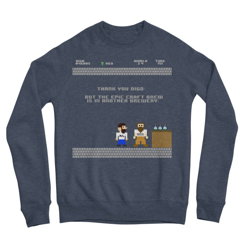 Another Brewery Men's Sponge Fleece Sweatshirt by DrinkIN GeekOUT's Artist Shop