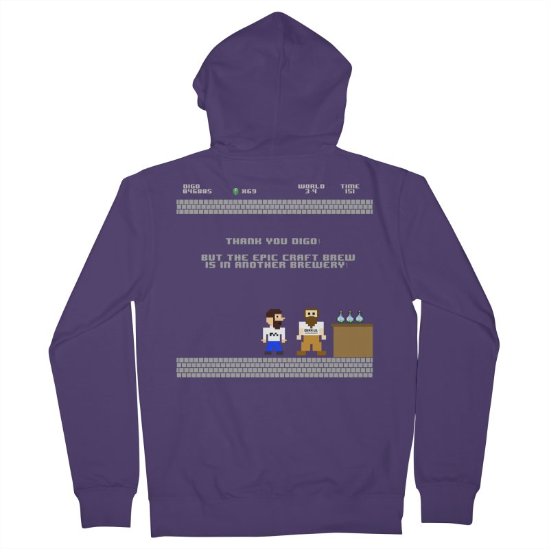 Another Brewery Women's French Terry Zip-Up Hoody by DrinkIN GeekOUT's Artist Shop