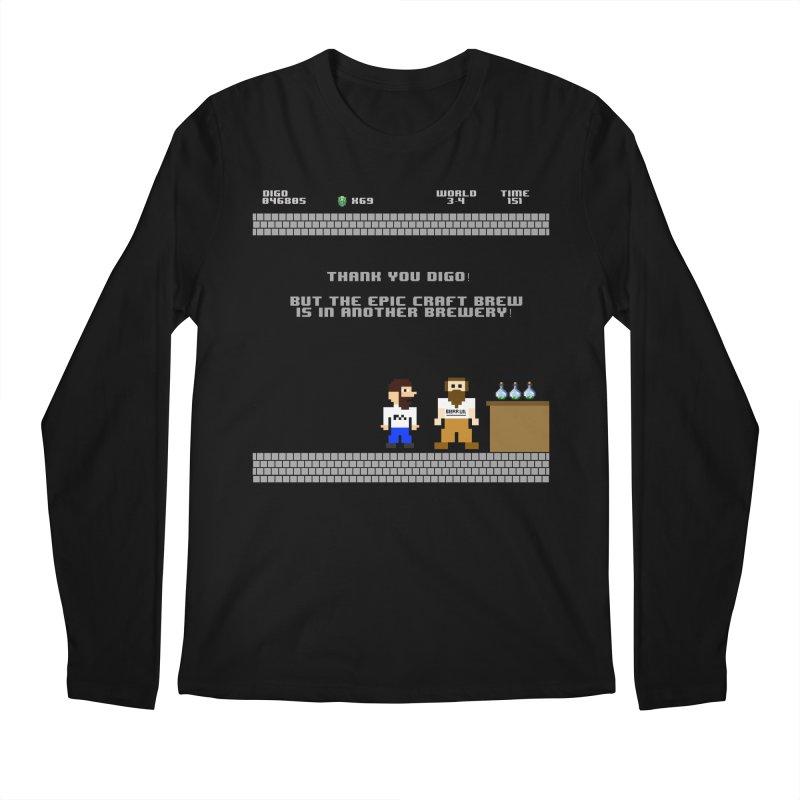 Another Brewery Men's Regular Longsleeve T-Shirt by DrinkIN GeekOUT's Artist Shop