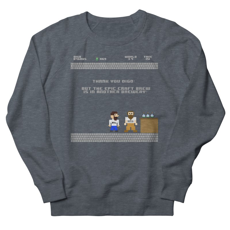 Another Brewery Women's French Terry Sweatshirt by DrinkIN GeekOUT's Artist Shop