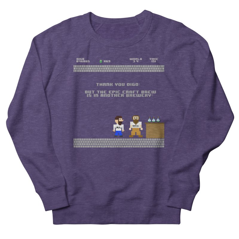 Another Brewery Men's French Terry Sweatshirt by DrinkIN GeekOUT's Artist Shop