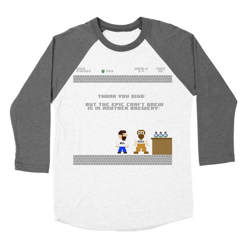 Another Brewery Women's Baseball Triblend Longsleeve T-Shirt by DrinkIN GeekOUT's Artist Shop