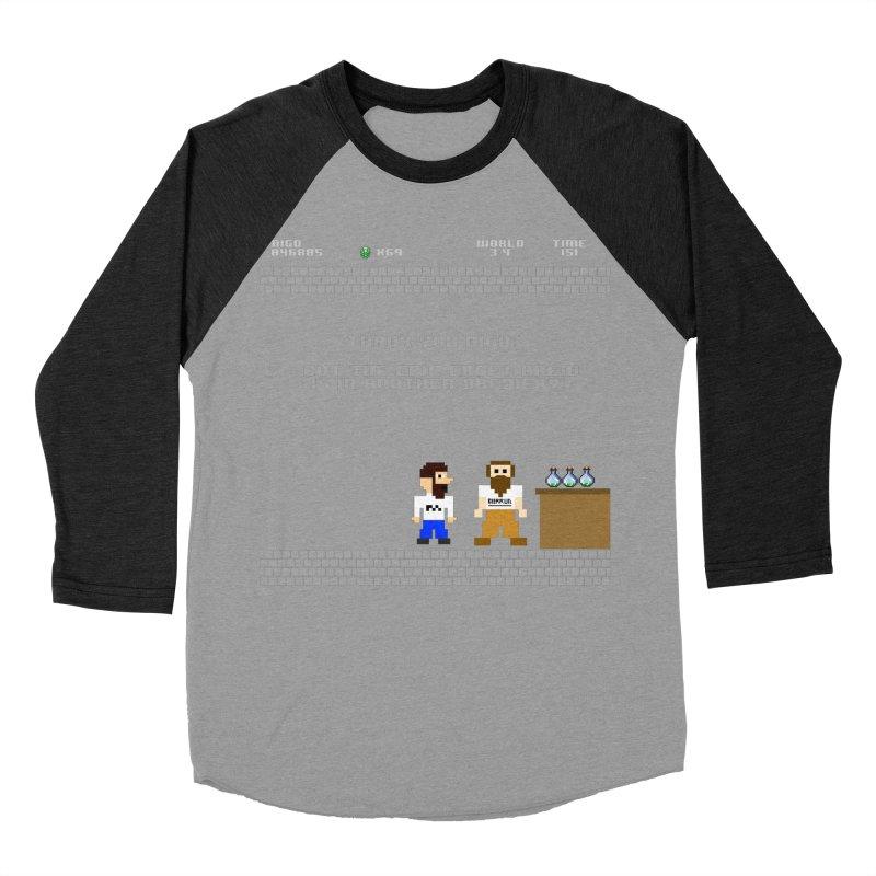 Another Brewery Men's Baseball Triblend Longsleeve T-Shirt by DrinkIN GeekOUT's Artist Shop