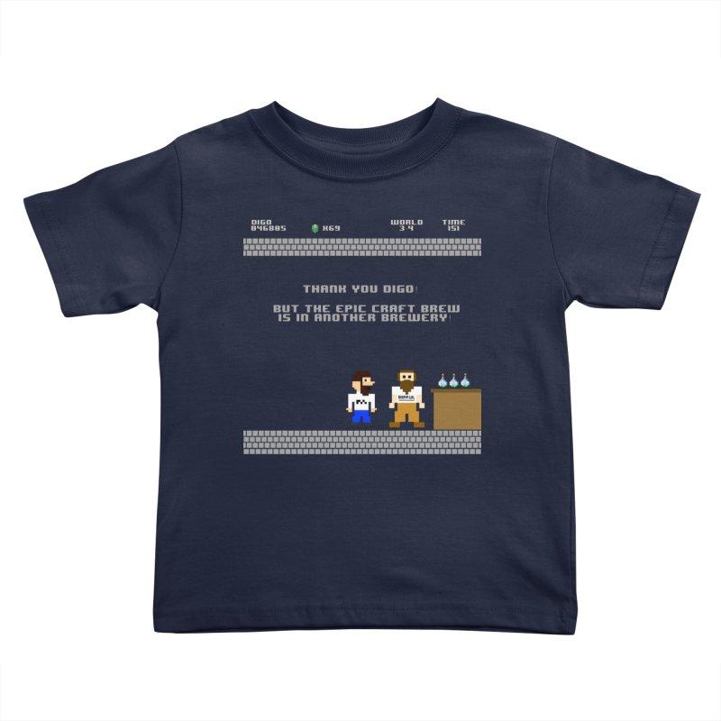 Another Brewery Kids Toddler T-Shirt by DrinkIN GeekOUT's Artist Shop