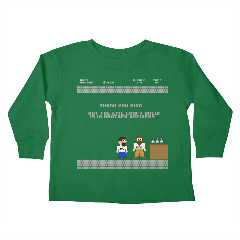 Another Brewery Kids Toddler Longsleeve T-Shirt by DrinkIN GeekOUT's Artist Shop