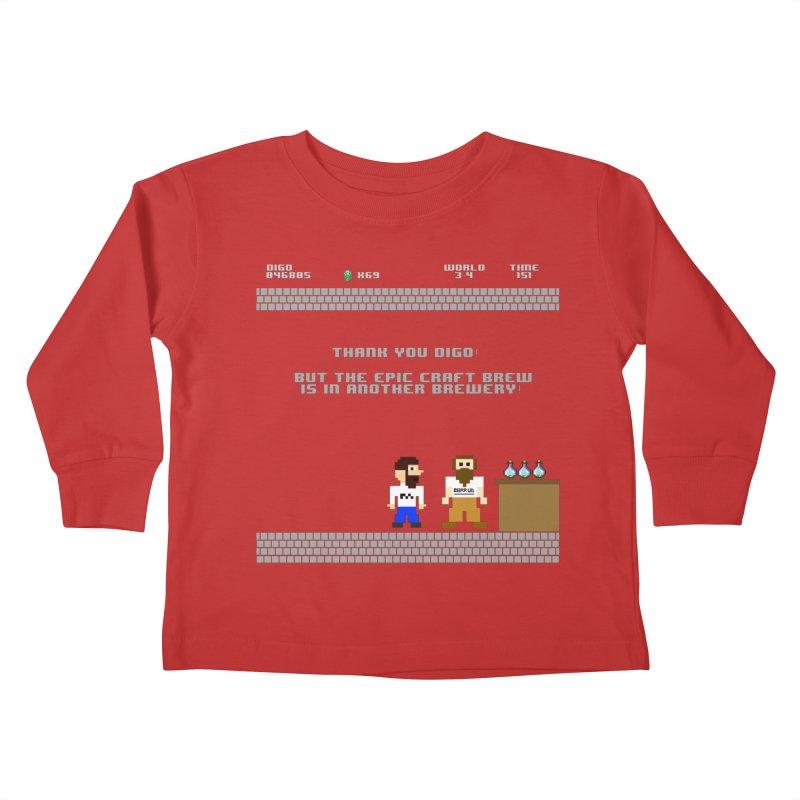 Another Brewery Kids Toddler Longsleeve T-Shirt by DrinkIN GeekOUT's Artist Shop
