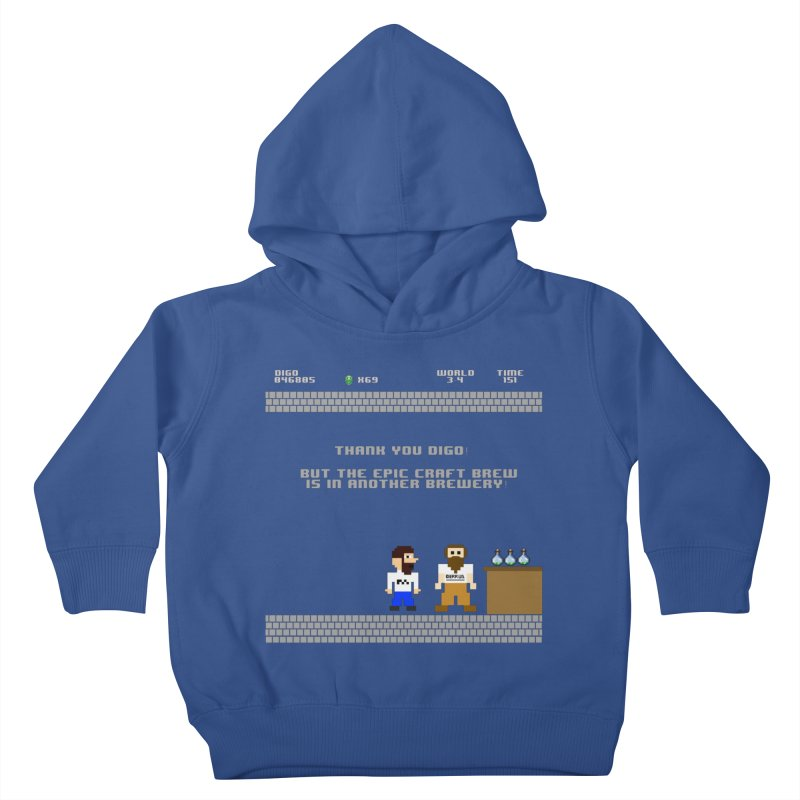 Another Brewery Kids Toddler Pullover Hoody by DrinkIN GeekOUT's Artist Shop