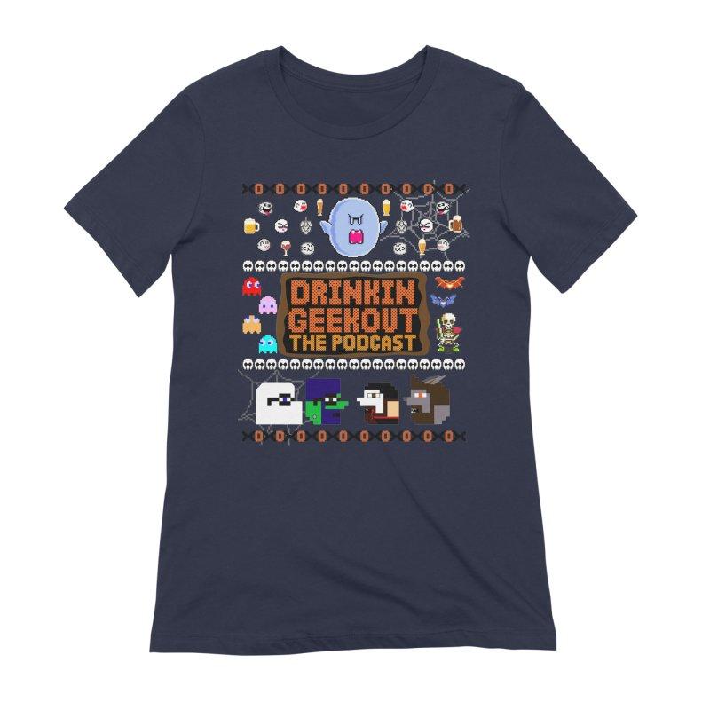 Ugly Halloween Sweeter Women's Extra Soft T-Shirt by DrinkIN GeekOUT's Artist Shop