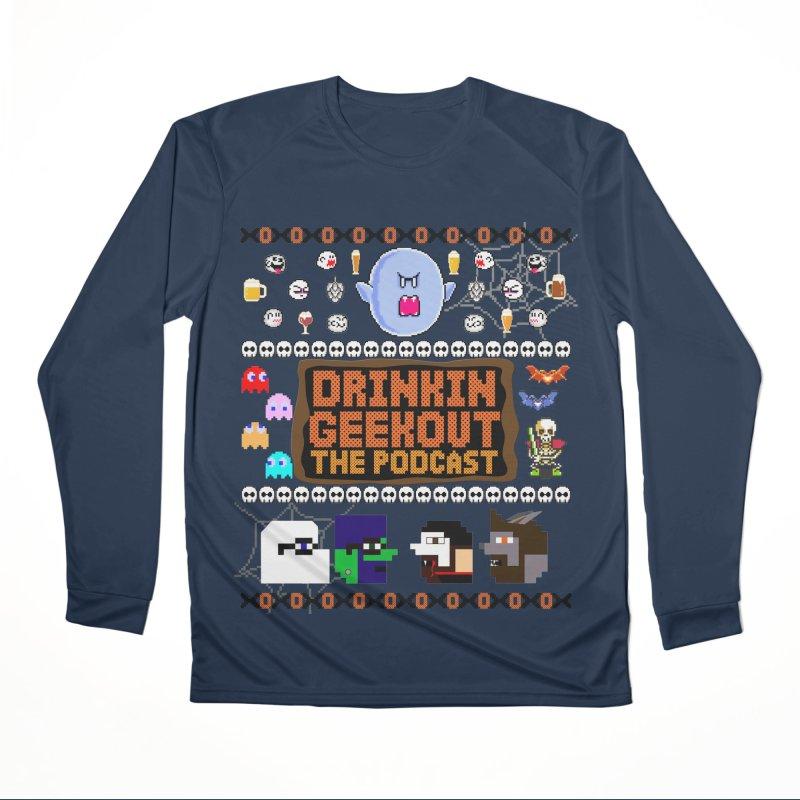 Ugly Halloween Sweeter Men's Performance Longsleeve T-Shirt by DrinkIN GeekOUT's Artist Shop