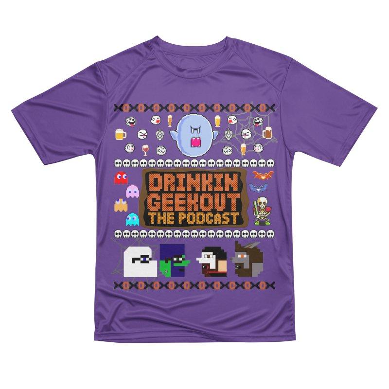 Ugly Halloween Sweeter Women's Performance Unisex T-Shirt by DrinkIN GeekOUT's Artist Shop