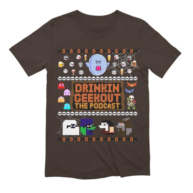 Ugly Halloween Sweeter Men's Extra Soft T-Shirt by DrinkIN GeekOUT's Artist Shop