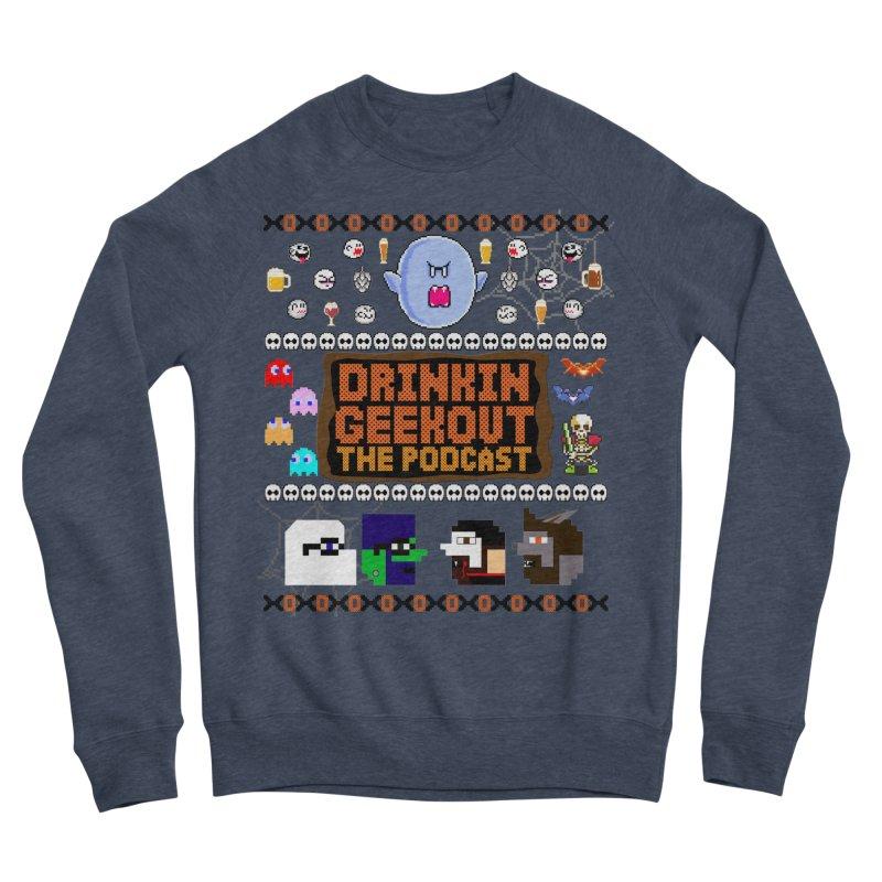 Ugly Halloween Sweeter Men's Sponge Fleece Sweatshirt by DrinkIN GeekOUT's Artist Shop
