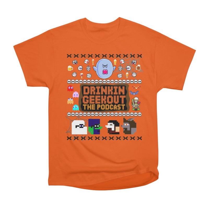 Ugly Halloween Sweeter Men's Heavyweight T-Shirt by DrinkIN GeekOUT's Artist Shop
