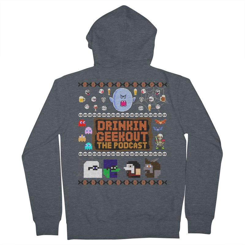 Ugly Halloween Sweeter Women's French Terry Zip-Up Hoody by DrinkIN GeekOUT's Artist Shop