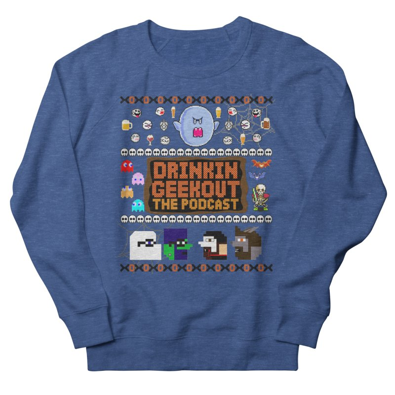 Ugly Halloween Sweeter Men's French Terry Sweatshirt by DrinkIN GeekOUT's Artist Shop