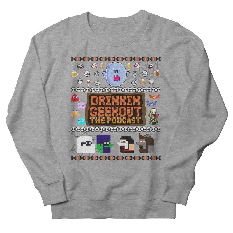 Ugly Halloween Sweeter Men's French Terry Sweatshirt by DrinkIN GeekOUT's Artist Shop