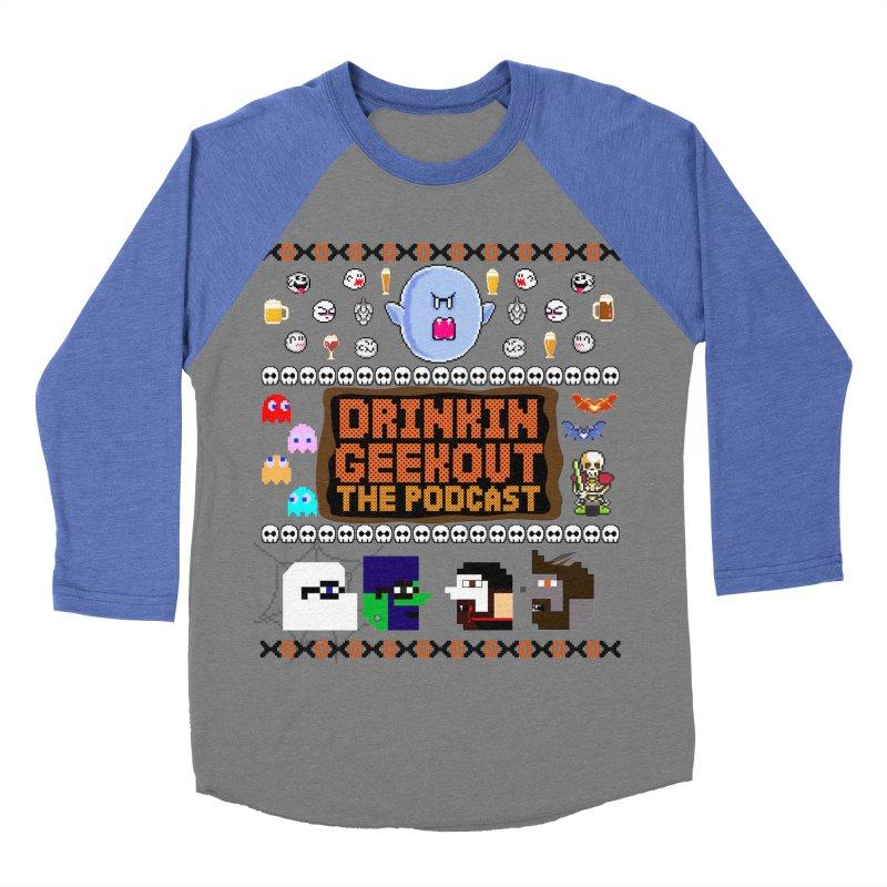 Ugly Halloween Sweeter Women's Baseball Triblend Longsleeve T-Shirt by DrinkIN GeekOUT's Artist Shop