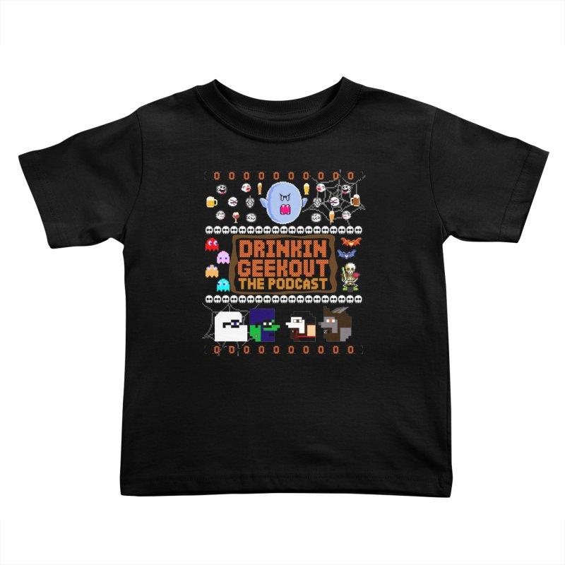 Ugly Halloween Sweeter Kids Toddler T-Shirt by DrinkIN GeekOUT's Artist Shop