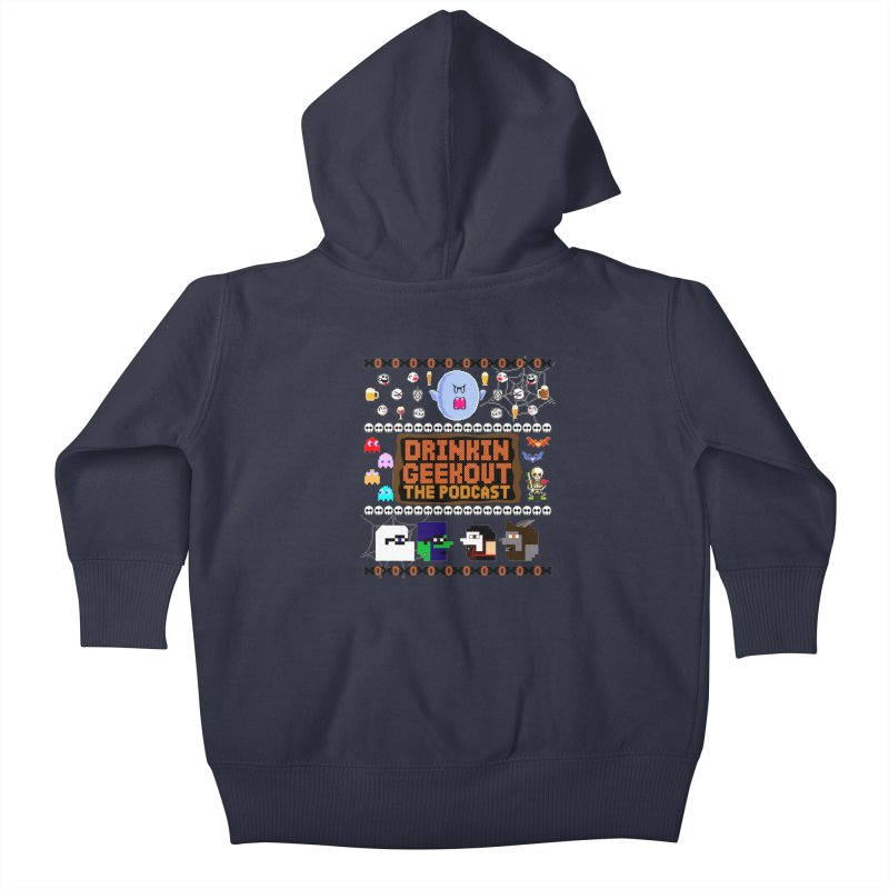 Ugly Halloween Sweeter Kids Baby Zip-Up Hoody by DrinkIN GeekOUT's Artist Shop