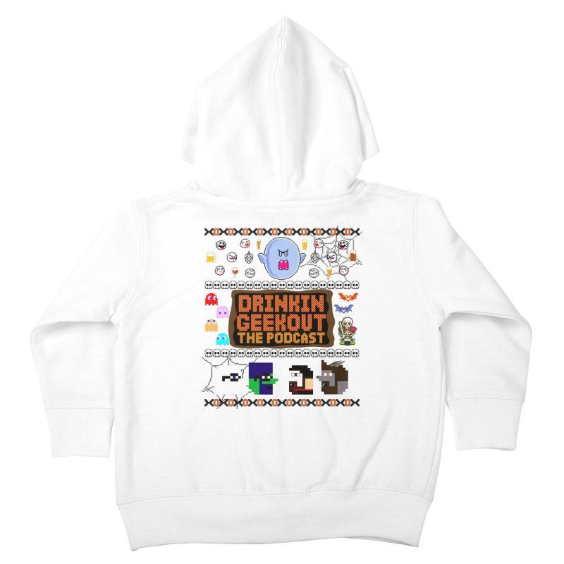 Ugly Halloween Sweeter Kids Toddler Zip-Up Hoody by DrinkIN GeekOUT's Artist Shop