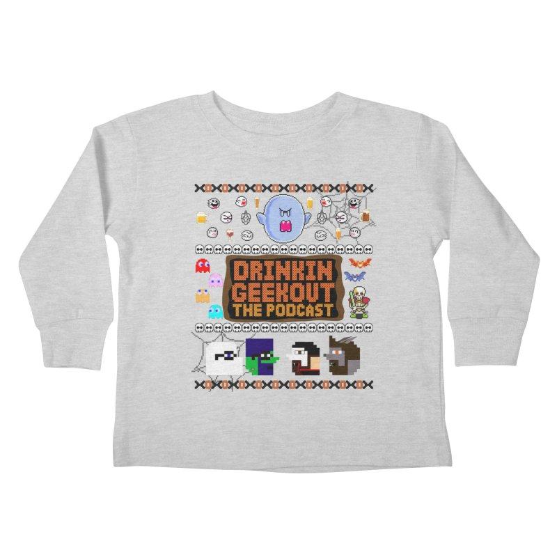 Ugly Halloween Sweeter Kids Toddler Longsleeve T-Shirt by DrinkIN GeekOUT's Artist Shop