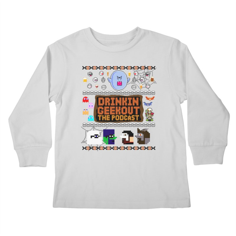 Ugly Halloween Sweeter Kids Longsleeve T-Shirt by DrinkIN GeekOUT's Artist Shop