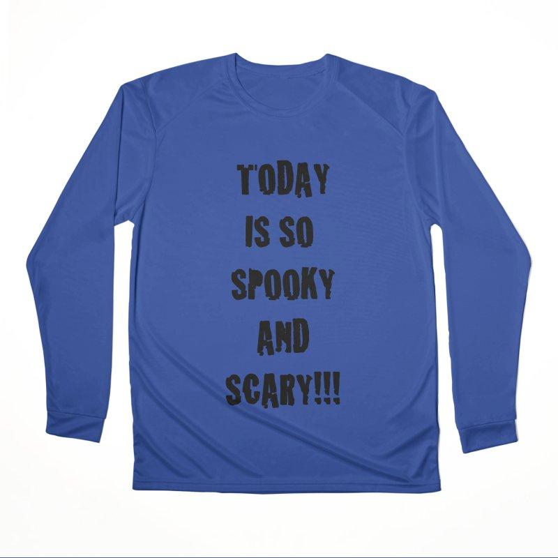 Halloween Tee Men's Performance Longsleeve T-Shirt by DrinkIN GeekOUT's Artist Shop