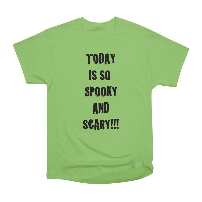 Halloween Tee Women's Heavyweight Unisex T-Shirt by DrinkIN GeekOUT's Artist Shop