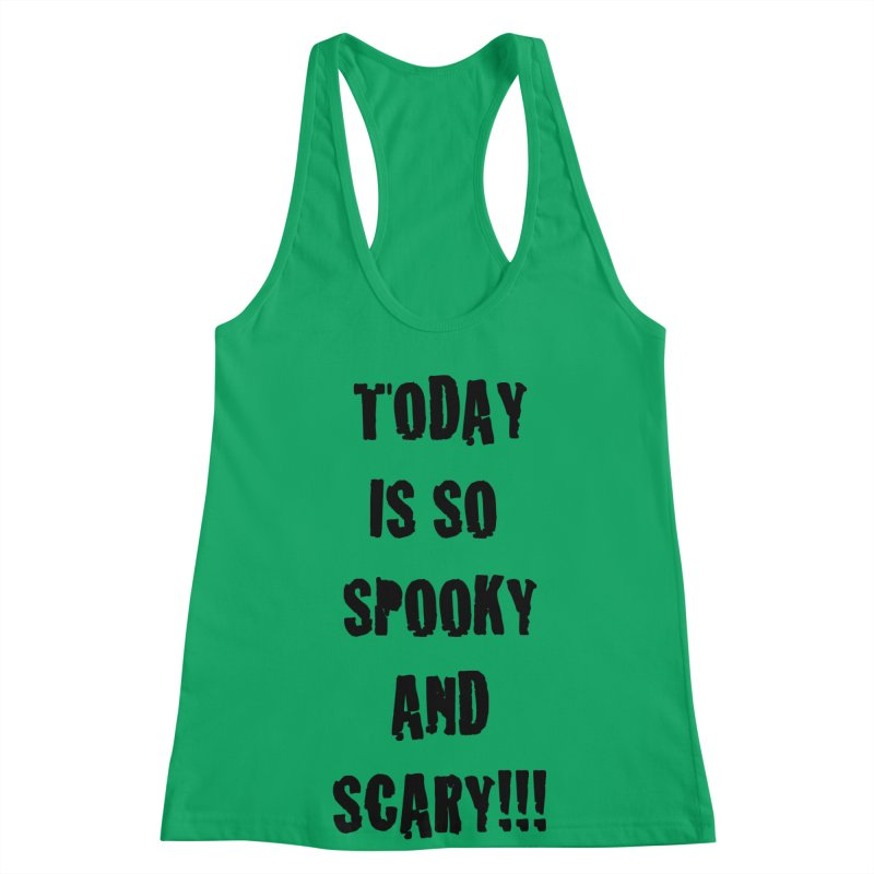 Halloween Tee Women's Racerback Tank by DrinkIN GeekOUT's Artist Shop