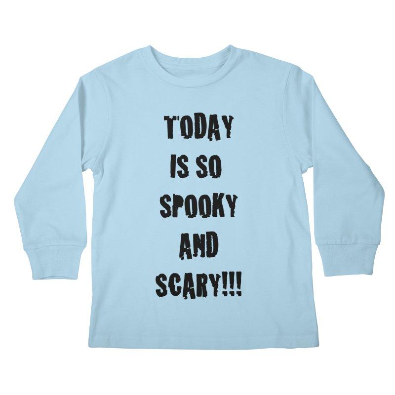 Halloween Tee Kids Longsleeve T-Shirt by DrinkIN GeekOUT's Artist Shop