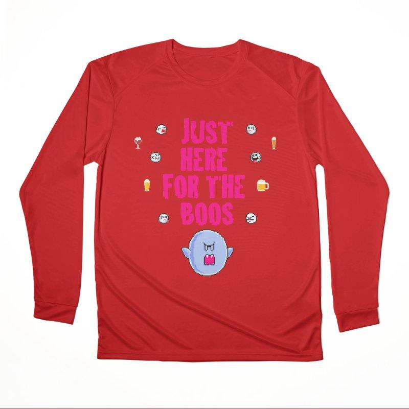 Here 4 Boos Men's Performance Longsleeve T-Shirt by DrinkIN GeekOUT's Artist Shop
