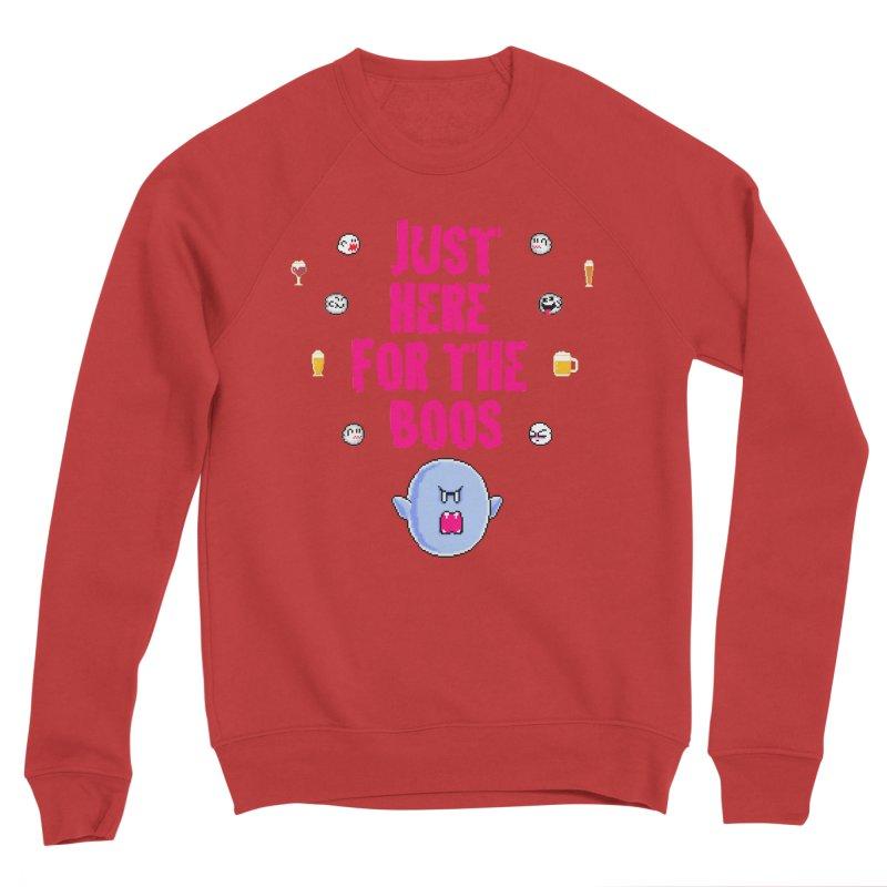 Here 4 Boos Men's Sponge Fleece Sweatshirt by DrinkIN GeekOUT's Artist Shop