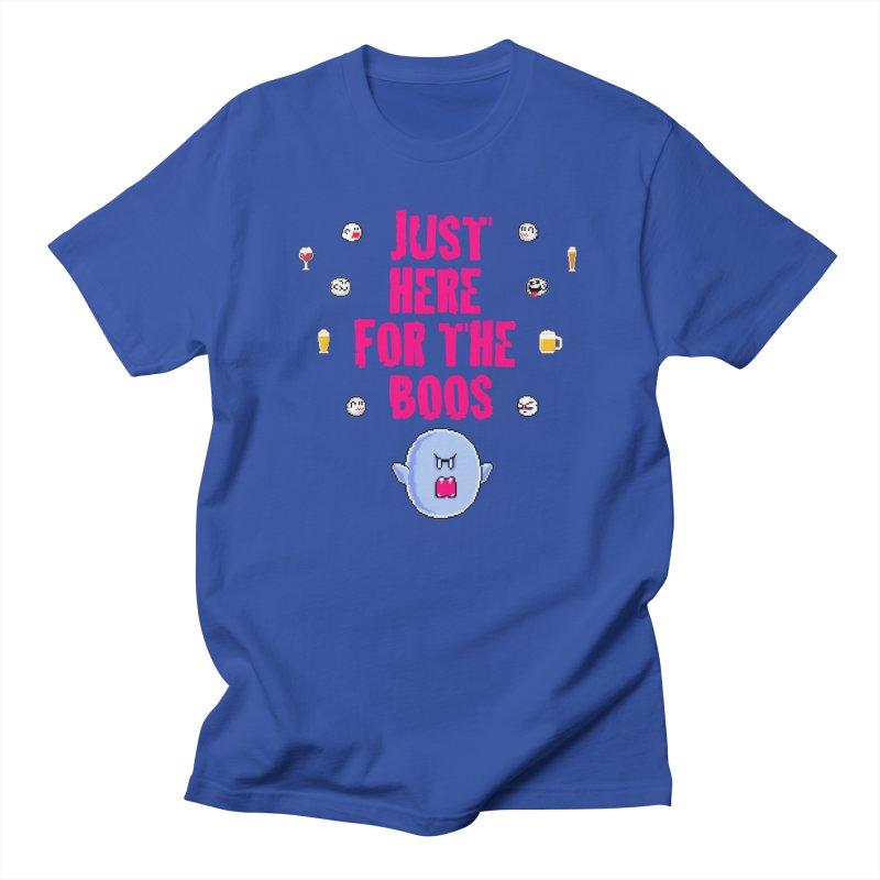 Here 4 Boos Men's Regular T-Shirt by DrinkIN GeekOUT's Artist Shop